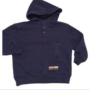 2/$20 BUM Navy Blue Boys Sweatshirt Hoodie